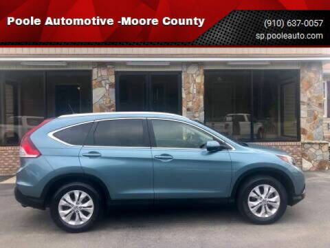 2013 Honda CR-V for sale at Poole Automotive in Laurinburg NC