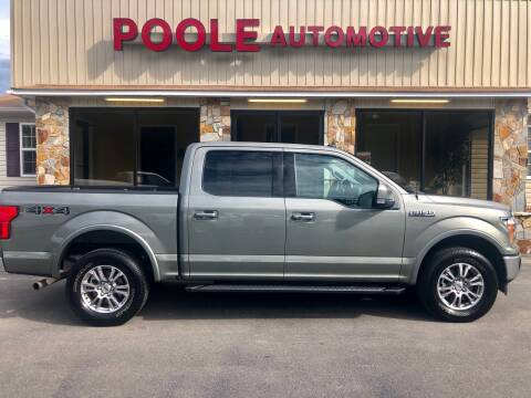 2020 Ford F-150 for sale at Poole Automotive in Laurinburg NC