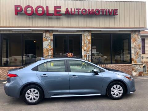 2020 Toyota Corolla for sale at Poole Automotive in Laurinburg NC