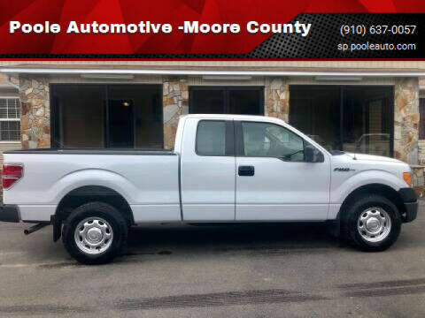 2010 Ford F-150 for sale at Poole Automotive in Laurinburg NC