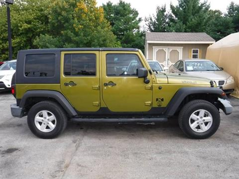 2007 Jeep Wrangler Unlimited for sale in Greenwood, IN