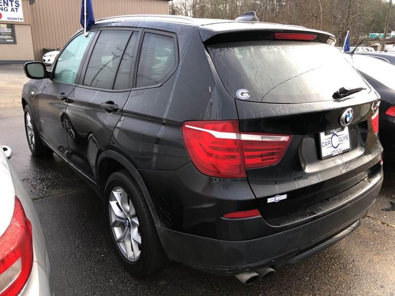2013 BMW X3 AWD xDrive28i 4dr SUV - Lenoir NC