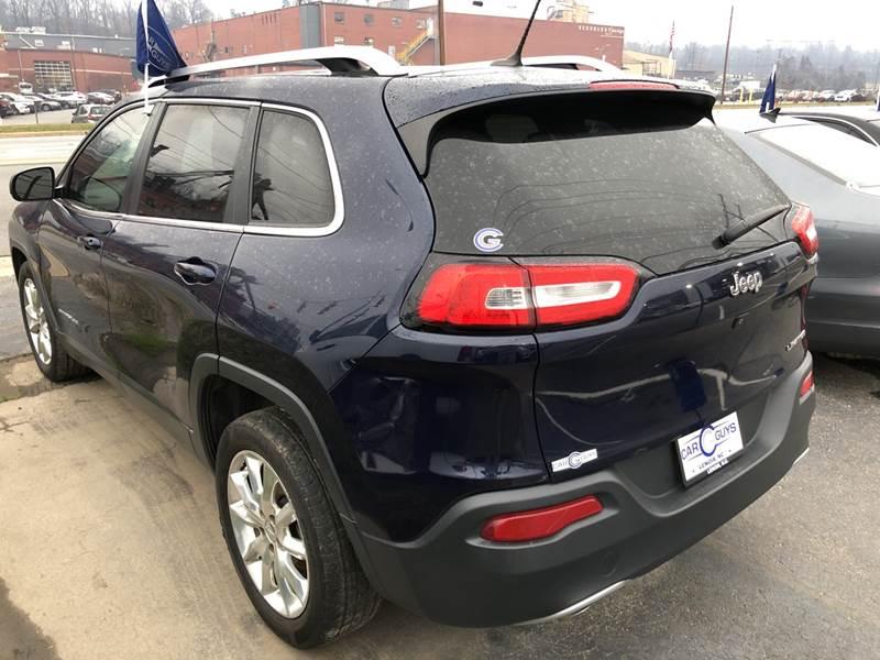 2014 Jeep Cherokee Limited 4dr SUV - Lenoir NC