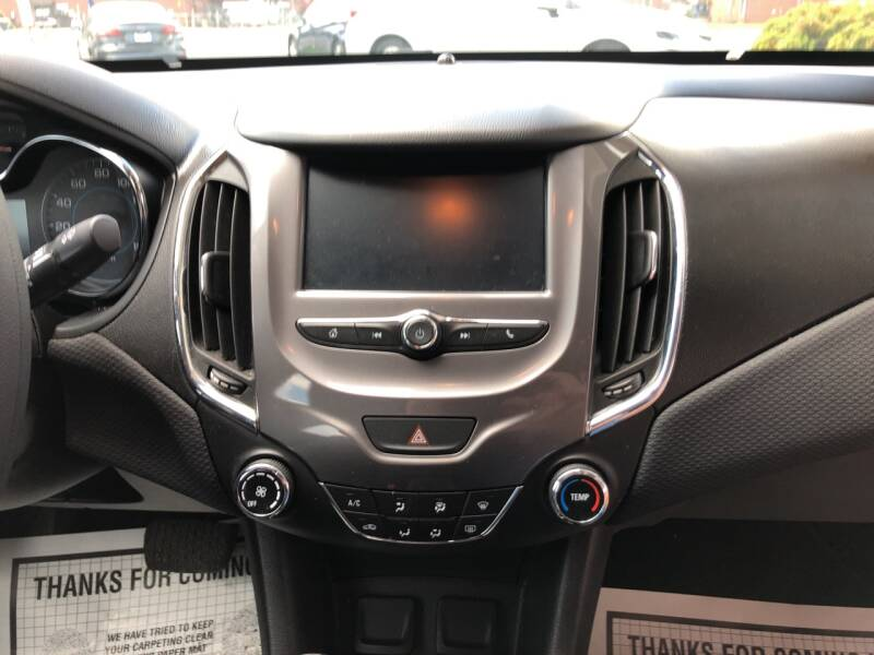 2016 Chevrolet Cruze LT Auto 4dr Sedan w/1SD - Lenoir NC