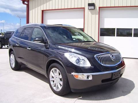 2012 Buick Enclave for sale at SCOTT LEMAN AUTOS in Goodfield IL