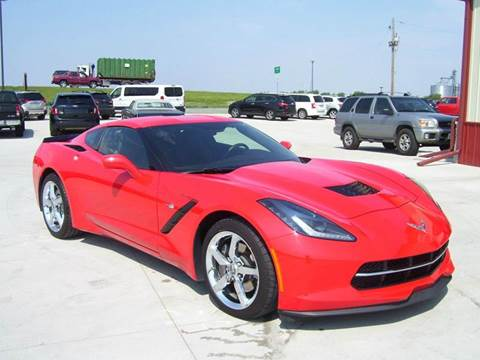 2015 Chevrolet Corvette for sale at SCOTT LEMAN AUTOS in Goodfield IL