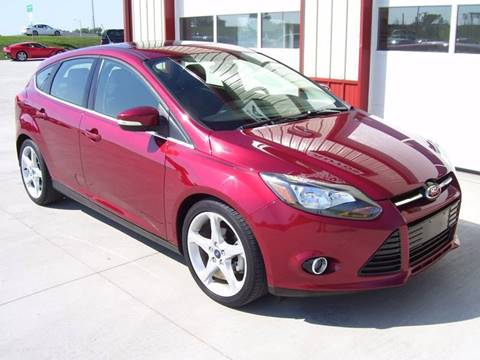 2013 Ford Focus for sale at SCOTT LEMAN AUTOS in Goodfield IL