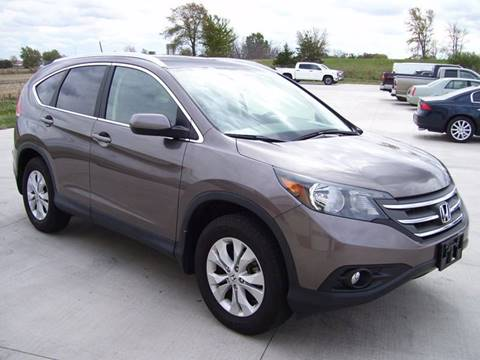 2014 Honda CR-V for sale at SCOTT LEMAN AUTOS in Goodfield IL