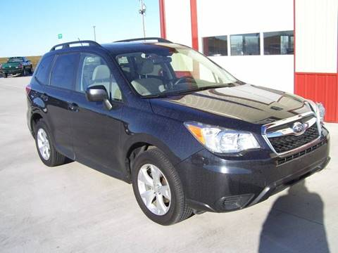 2015 Subaru Forester for sale at SCOTT LEMAN AUTOS in Goodfield IL