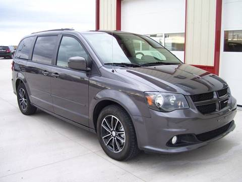 2017 Dodge Grand Caravan for sale at SCOTT LEMAN AUTOS in Goodfield IL
