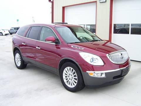 2011 Buick Enclave for sale at SCOTT LEMAN AUTOS in Goodfield IL