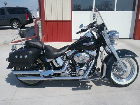 2010 Harley-Davidson FLSTN for sale at SCOTT LEMAN AUTOS in Goodfield IL