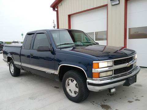1998 Chevrolet C/K 1500 Series for sale at SCOTT LEMAN AUTOS in Goodfield IL