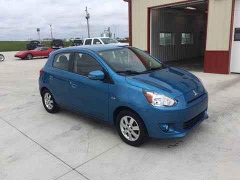 2015 Mitsubishi Mirage for sale at SCOTT LEMAN AUTOS in Goodfield IL
