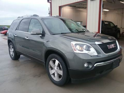 2011 GMC Acadia for sale at SCOTT LEMAN AUTOS in Goodfield IL