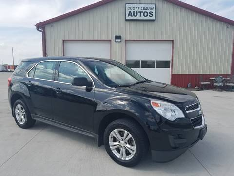 2013 Chevrolet Equinox for sale at SCOTT LEMAN AUTOS in Goodfield IL