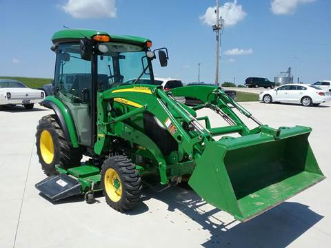 2014 John Deere 3046R for sale at SCOTT LEMAN AUTOS in Goodfield IL