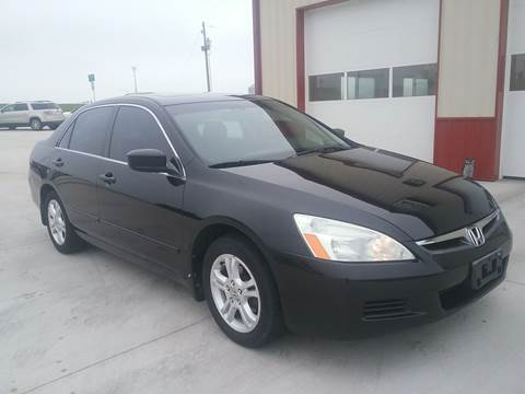 2007 Honda Accord for sale at SCOTT LEMAN AUTOS in Goodfield IL