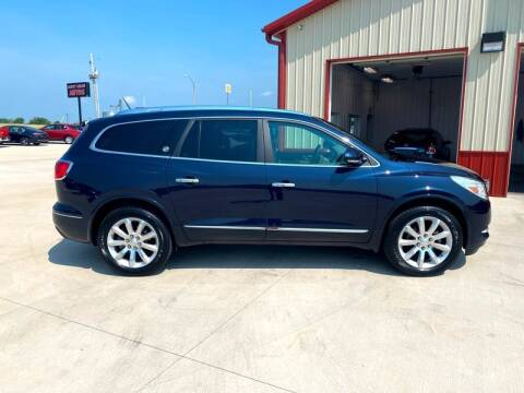 2017 Buick Enclave for sale at SCOTT LEMAN AUTOS in Goodfield IL