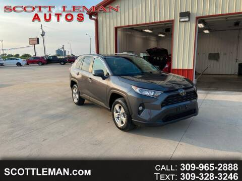 2020 Toyota RAV4 for sale at SCOTT LEMAN AUTOS in Goodfield IL