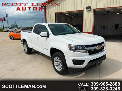 2018 Chevrolet Colorado for sale at SCOTT LEMAN AUTOS in Goodfield IL