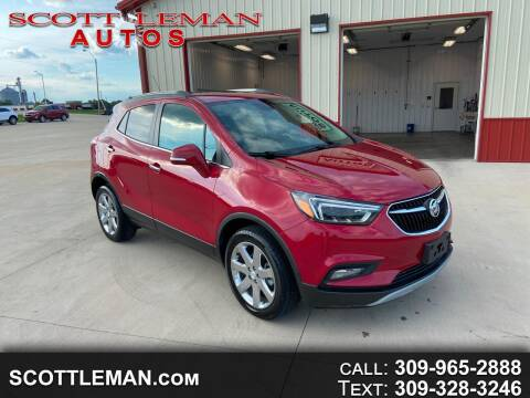 2017 Buick Encore for sale at SCOTT LEMAN AUTOS in Goodfield IL