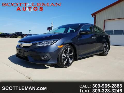 2017 Honda Civic for sale at SCOTT LEMAN AUTOS in Goodfield IL