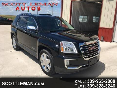 2016 GMC Terrain for sale at SCOTT LEMAN AUTOS in Goodfield IL