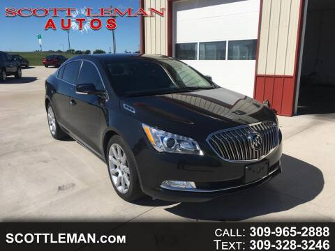 2015 Buick LaCrosse for sale at SCOTT LEMAN AUTOS in Goodfield IL