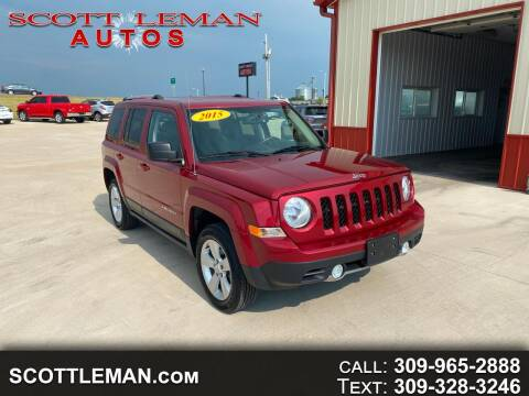 2015 Jeep Patriot for sale at SCOTT LEMAN AUTOS in Goodfield IL