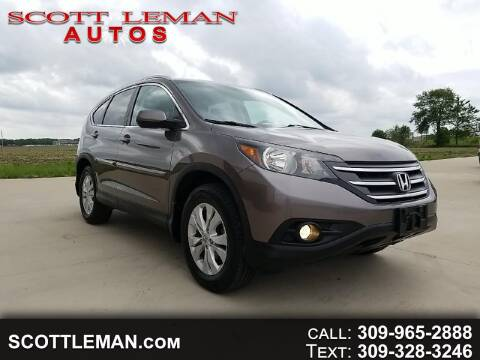 2013 Honda CR-V for sale at SCOTT LEMAN AUTOS in Goodfield IL