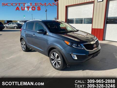 2013 Kia Sportage for sale at SCOTT LEMAN AUTOS in Goodfield IL
