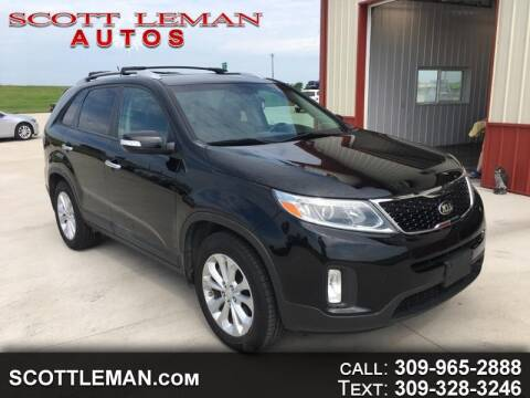 2015 Kia Sorento for sale at SCOTT LEMAN AUTOS in Goodfield IL