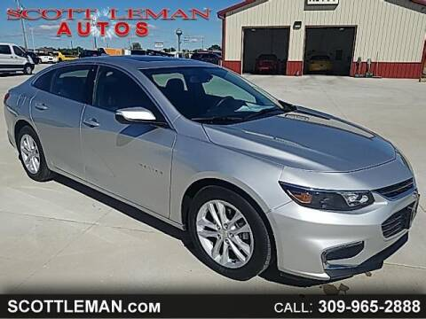 2018 Chevrolet Malibu for sale at SCOTT LEMAN AUTOS in Goodfield IL