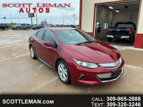 2017 Chevrolet Volt for sale at SCOTT LEMAN AUTOS in Goodfield IL