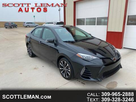 2019 Toyota Corolla for sale at SCOTT LEMAN AUTOS in Goodfield IL