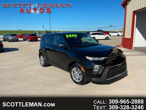 2020 Kia Soul for sale at SCOTT LEMAN AUTOS in Goodfield IL