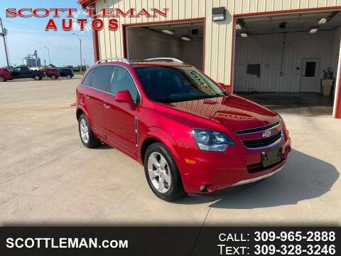 2015 Chevrolet Captiva Sport for sale at SCOTT LEMAN AUTOS in Goodfield IL