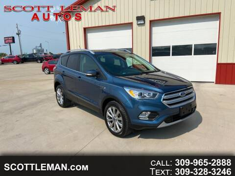 2018 Ford Escape for sale at SCOTT LEMAN AUTOS in Goodfield IL
