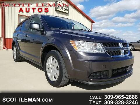 2017 Dodge Journey for sale at SCOTT LEMAN AUTOS in Goodfield IL