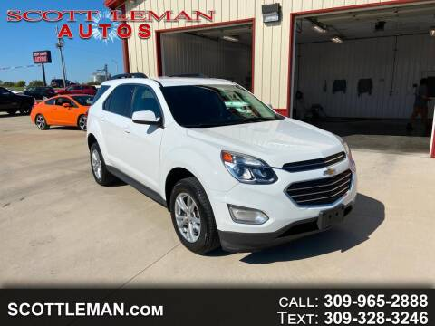 2016 Chevrolet Equinox for sale at SCOTT LEMAN AUTOS in Goodfield IL