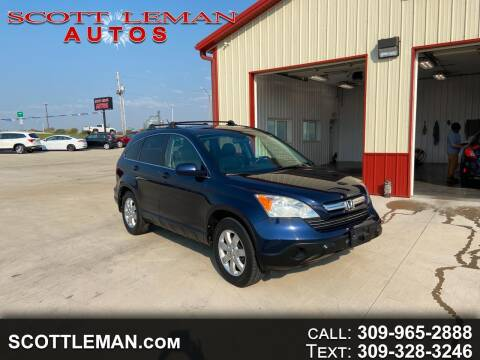 2008 Honda CR-V for sale at SCOTT LEMAN AUTOS in Goodfield IL