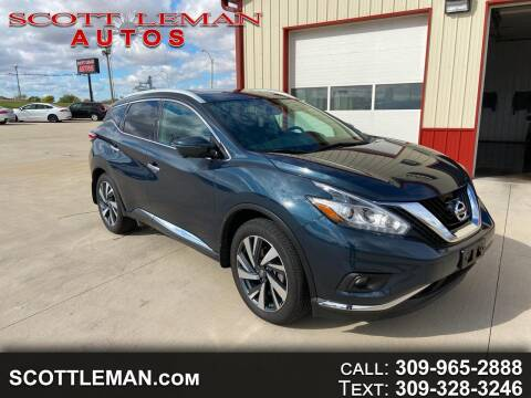 2018 Nissan Murano for sale at SCOTT LEMAN AUTOS in Goodfield IL