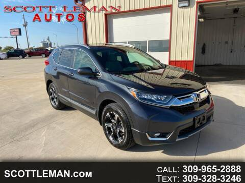 2018 Honda CR-V for sale at SCOTT LEMAN AUTOS in Goodfield IL