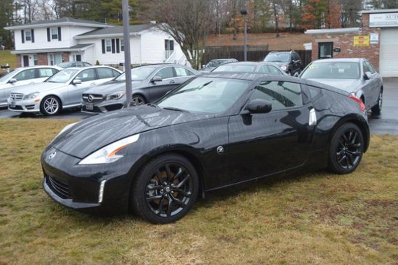 2017 nissan 370z sport 2dr coupe 7a in hanover ma auto etc. Black Bedroom Furniture Sets. Home Design Ideas