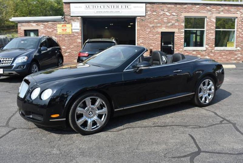 2008 Bentley Continental Awd Gt 2dr Convertible In Hanover Ma Auto