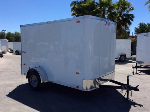2018 10' ENCLOSED CARGO TRAILER PACE AMERCIAN