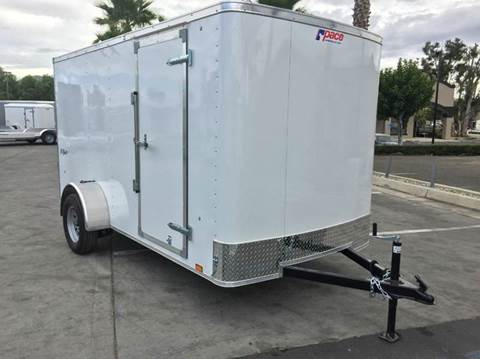 2017 12' ENCLOSED TRAILER CARGO  PACE AMERICAN