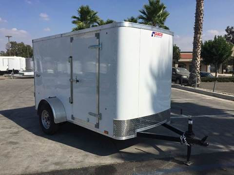 2017 10' ENCLOSED TRAILER CARGO  PACE AMERICAN