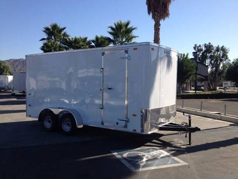 2017 16' ENCLOSED CARGO TRAILER LOOK